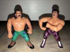 *Wrestlemania 4* Match WWF WWE Hasbro Jake The Snake Vs Ravishing Rick Rude