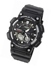 Casio Herrenuhr AEQ110W-1AV Analog und Digital Quarz schwarz Uhr