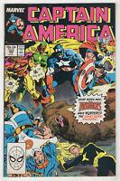 Captain America #352 (Apr 1989, Marvel) Speedball, Soviet Super-Soldiers j