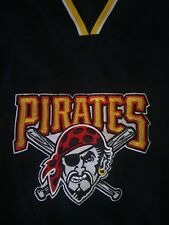 MLB Pitsburgh Pirates Youth Pull Over Jacket Vintage Pirates Logo Size 8/10 EUC