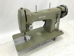 SERVICED Heavy Duty Vtg Necchi BF Mira Sewing Machine Denim, Leather, Embroidery