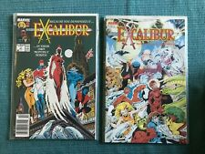 EXCALIBUR SWORD IS DRAWN NM+ & issue 1 1988 + VOL 2 1 - 14 + NEW SERIES XMEN