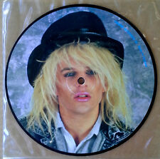 """POISON - INTERVIEW 86 - 7"""" PICTURE DISC - MADE IN ENGLAND"""