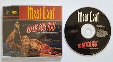 █▬█ Ⓞ ▀█▀ Ⓗⓞⓣ I`D LIE FOR YOU  Ⓗⓞⓣ  MEAT LOAF  Ⓗⓞⓣ 3 Track CD  Ⓗⓞⓣ