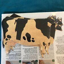 "Vintage NIB 90's Cow ""Wallies"" Wallpaper Cutouts Wall Decals Decor Shabby Chic"