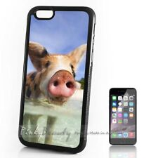 ( For iPhone 4 / 4S ) Back Case Cover P30137 Cute Pig