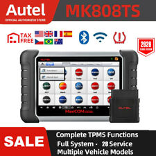 Autel MK808TS Car Automotive Scanner OBD2 OBDII TPMS Program IMMO Diagnostic DPF