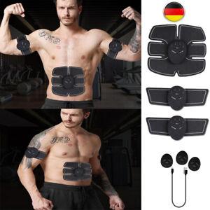 ABS Stimulator Bauchmuskeltrainer Trainingsgerät Elektro Fitness Exerciser DHL
