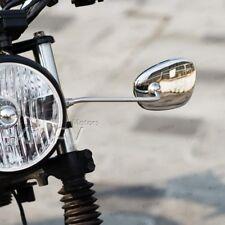 KiWAV mirrors Stan square chrome headlight mount for early BMW R67 R68 R69 R75