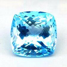 TOP TOPAZ  : 42,78 Ct Natürlicher Blau Topas aus Brasilien
