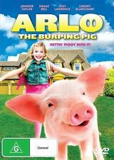 Arlo, The Burping Pig - JENNIFER TAYLOR/JOEY LAWRENCE  (PAL R4 DVD, 2017) NEW