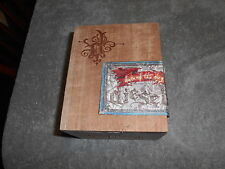 WOODEN CIGAR BOX WITH HINGES -  DIESEL  HAIR OF THE DOG  / # 2