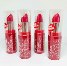4 LOT NYC New York Color Expert Last Lip Color Lipstick 404 Air kiss