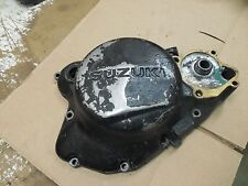 suzuki rm125 right engine crank case clutch cover 1981 1982 1983 rm 125