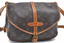 Authentic Louis Vuitton Monogram Saumur 30 Shoulder Bag M42256 LV A8125