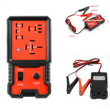 Electrical 4 Pin 5 Pin Relay Tester Battery Test Tool with Indicator for 12V Car