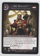 2008 VS System Marvel Universe Booster Pack Base MUN-231 Dr Strange Dr. Card 3v2