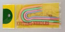 4 pcs Knitting Stitch Holders Cable Needles Crochet Locking Tool Craft Hook