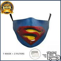 Superman Cotton Face Mask