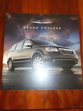 Chrysler Grand Voyager range brochure c2012 UK market