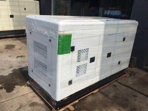 New 50Kw 50hz/60hz Diesel Powered Generator + Waterproof Enclosure & ATS by Sea