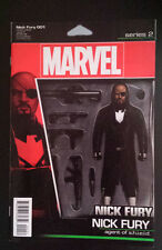 NICK FURY # 1 ACTION FIGURE COVER MARVEL COMICS. BAGGED/BOARDED