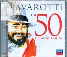 PAVAROTTI  -  The 50 Greatest Tracks  -  New Sealed Decca 2 CDs