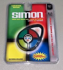 *NEW Simon Carabiner Edition Mini Clip On Travel Electronic Handheld Pocket Game