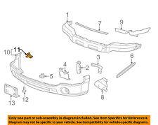 GM OEM Front Bumper-Bumper Cover Clip 15162843