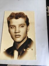 Elvis Presley Pre.famous Photo On Post Card 1996