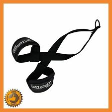AB CRUNCH SLING AB STRAPS WEIGHT LIFTING BOXING HANGING GYM CHIN UP BAR TRAINING