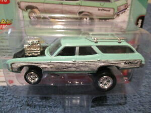JOHNNY LIGHTNING 2021 ZINGERS, RELEASE 2 A, 1969 CHEVY KINGSWOOD ESTATE.