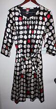 Downeast Basics Spotlight Dress Black and White Size L