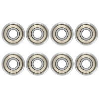 Skate Bearing 608 ZZ Wheel and Long board Skate Bearings, Double Armored, S J5A9