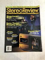 Vintage STEREO REVIEW Audiophile Videophile HIFI Magazine January 1999