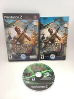 MEDAL OF HONOR RISING SUN PLAYSTATION 2 PS2 COMPLETE CIB