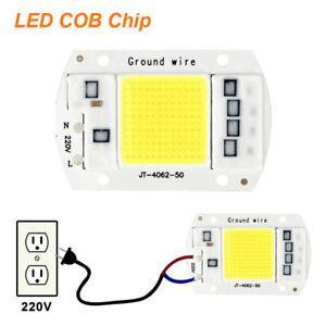 COB LED Chip 20W LED Flood Light High Power SMD Spotlight Smart IC DIY Lamp 220V