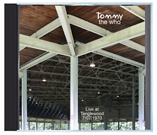 The WHO doing 'Tommy' LIVE, for the last time the band alone, 7/07/70, on CD