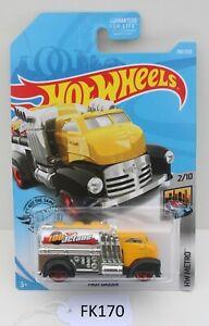 Hot wheels HW Metro Fast Gassin fuel Truck 2/10 US Card FNQHotwheels FK170