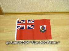 Fahnen Flagge Bermuda Bootsfahne Tischwimpel - 30 x 45 cm