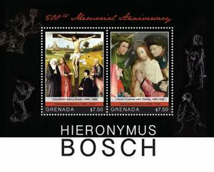 Grenada - 2016 - Hieronymus Bosch 500 Years In Memoriam - Souvenir Sheet - MNH