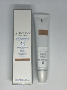Shiseido Urban Environment Tinted SPF 43 UV Protector Face 1.1oz - Shade 3