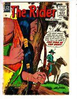 The Rider 3 G+ (2.5) 8/57 Ajax/Farrell Publications! Swift Arrow & Lone Rider!