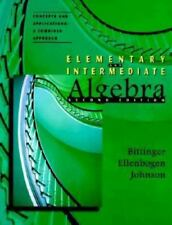 Elementary & Intermediate Algebra, Concepts and Applications: A Combined Approac