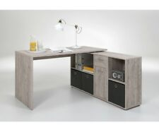 Lex Sandeiche Dekor Schreibtisch Bürotisch Büro Winkelkombination Tisch FMD
