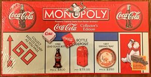 Monopoly Coca-Cola Col. Ed. / USAopoly / Factory Sealed / BRAND NEW! / RARE