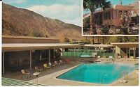 "Palm Springs CA  ""The Rancho Trailer Park Swimming Pool""  Postcard California"