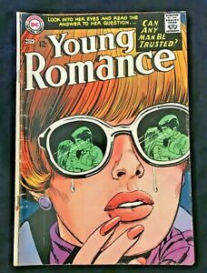 Silver Age November 1967 DC National Young Romance Comic Book 150