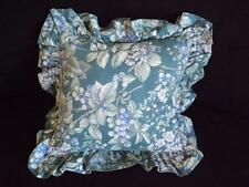 "Laura Ashley Bramble Berry Square Decorative Toss Throw Bed Pillow 12"" x 12"""