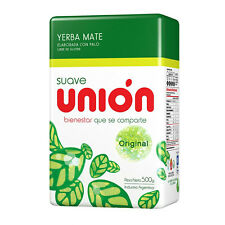 Y15 YERBA MATE UNION SUAVE/SMOOTH 500G TEA ARGENTINA